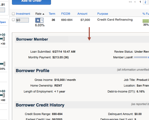 Loan-Description-Dropdown