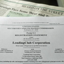 What Making History Looks Like: Lending Club Files for IPO