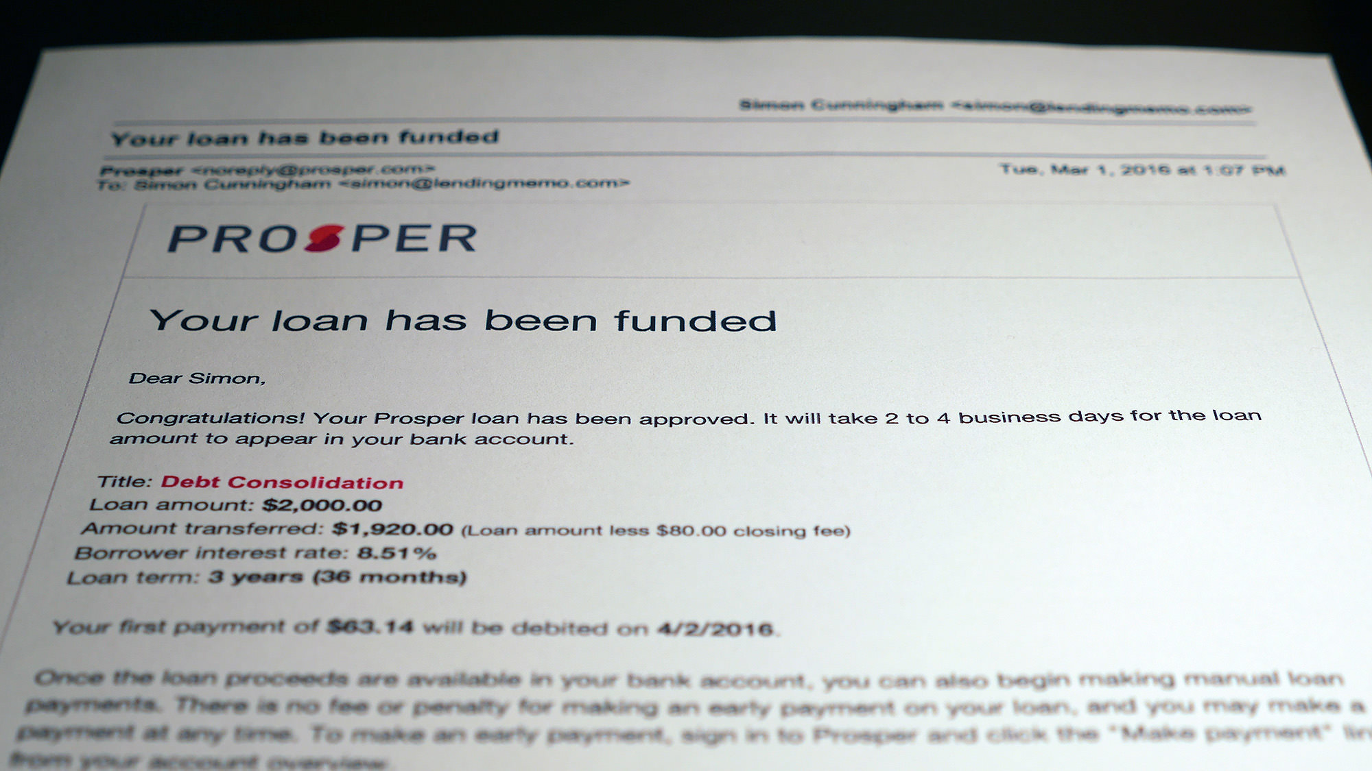 Prosper Loan Review For Borrowers Is This Legit